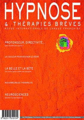 """""""Encore heureux !"""" Dr Stefano COLOMBO Revue Hypnose et Thérapies Brèves 30"""