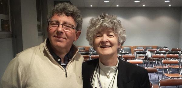 Laurent GROSS Président du CHTIP et Christine GUILLOUX de l'IMHEIDF deviennent partenaires