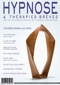"""""""Qu'attendez-vous de moi ?"""". Dr Stefano COLOMBO. Revue Hypnose et Thérapies Brèves 38"""